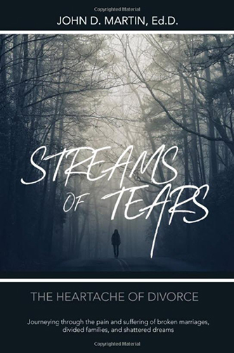 Streams of Tears: The Heartache of Divorce (front cover)